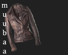 Muubaa. The leather jacket. Wardrobe essentials.